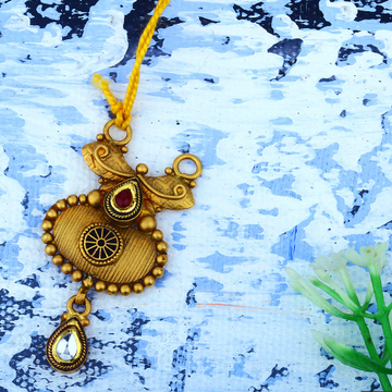 22K Gold Antique Fancy Pendant JAP-029