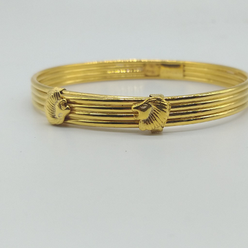 Gold kada for gents by