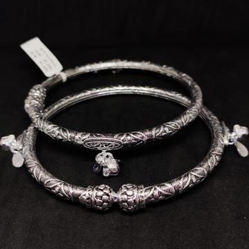 silver classical ladies anklets paya RH-AP609