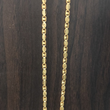 22 carat gold handmade chain 20gm by Suvidhi Ornaments