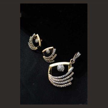 22 K Gold Pendant Set. nj-p01191