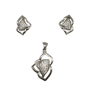 925 Sterling Silver Fancy Pendant Set MGA - PTS0030
