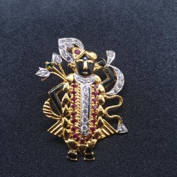 Shrinath ji pendant png-0054