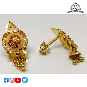 22 carat gold ladies earrings RH-ER857