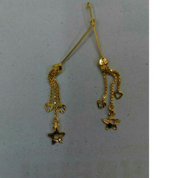 18K Gold Designer Ladies Latkan Earrings