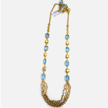 22KT Gold Antique Pearl Mala RHJ-4473