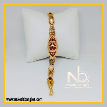 916 Gold Antique Bracelet NB - 558