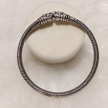 Silver bracelet by
