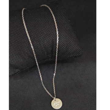 925 Sterling Silver Designed Pendant Chain by