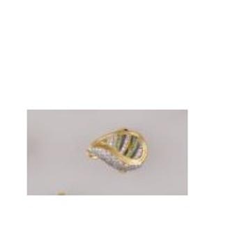 22K/916 Gold fancy CZ Ring by