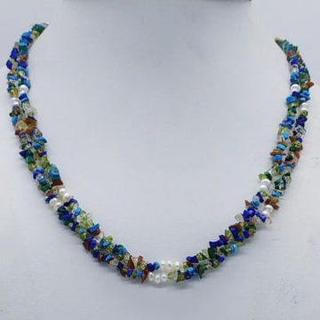 Semiprecious Chips Necklace JSS0151