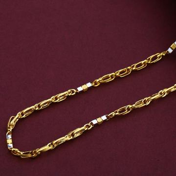Mens 916 Daily Wear Turkey Gold Chain-MTC64