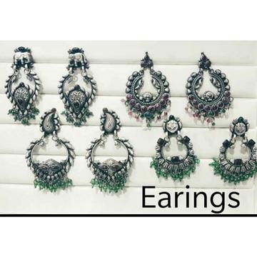 92.5 Sterling Silver Beautiful Earring Ms-3503 by