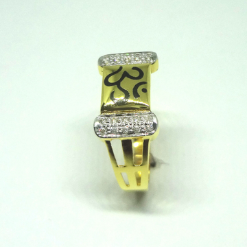 916 cz diamond gents ring