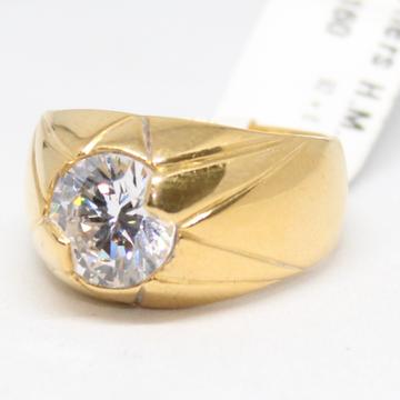 ring 916 hallmark gold daimond -6747 by