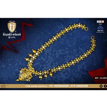 916 Gold Antique Necklace TJ-N01