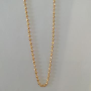 916 gold vertical kanthi mala by Vinayak Gold