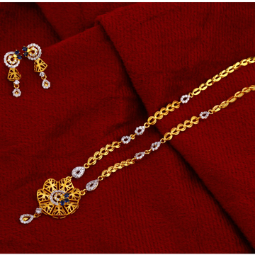 22ct  Gold  Fancy Chain Necklace CN79