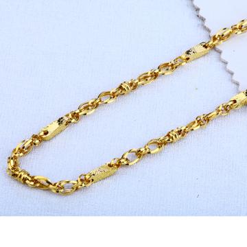 916 gold mens choco chain mch130