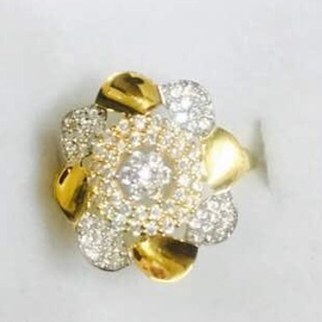 916 Gold cZ Ladies Ring LR-0006