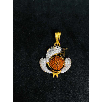 916 Fancy God Rudraksh Pendant P-47502