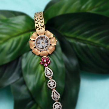 916 gold cz fancy watch pj-w003