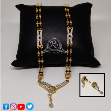 22 carat gold classical mangalsutra RH-MN364