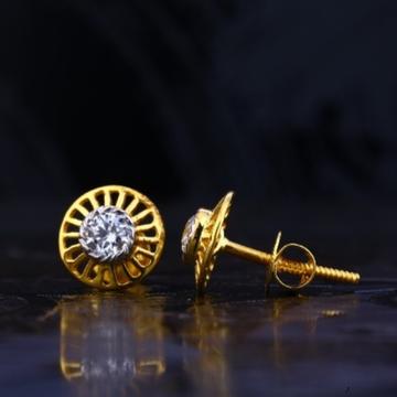 22 carat gold antique ladies earrings RH-LE735