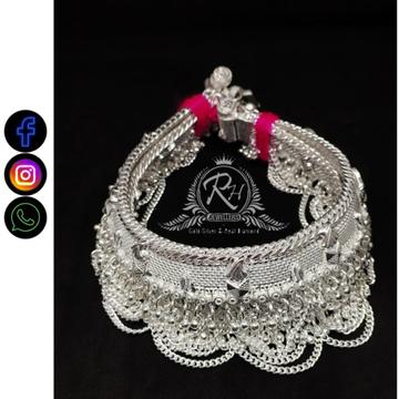 silver traditional payal RH-LP382