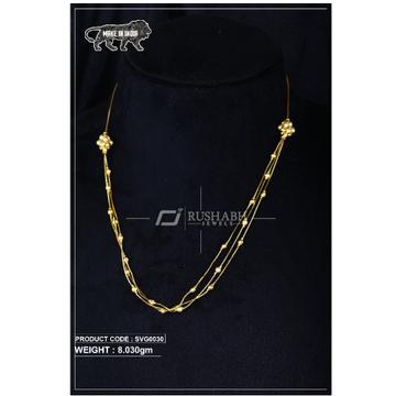 22 Carat 916 Gold Ladies swarovski Moti mala svg0030