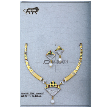 22 Carat 916 Gold Ladies necklace nkg0035