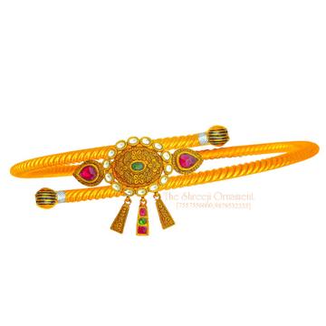 916 Gold Designer Jadtar Armlet - 011