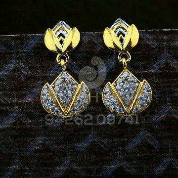 18kt Fancy Gold Cz Ladies Tops ATG -0533
