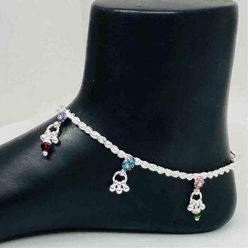 Exclusive ladies anklets by Prakash Jewellers