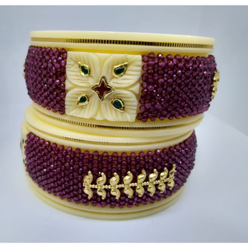 Gold Flower Classic Design Hallmark Plastic Bangle... by