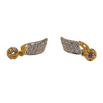 18K Gold CZ Diamond Fancy Earrings MGA - BLG0616