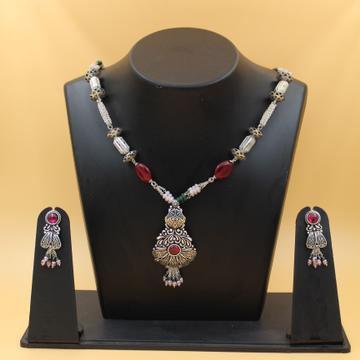 92.5 Silver necklace set SL N004