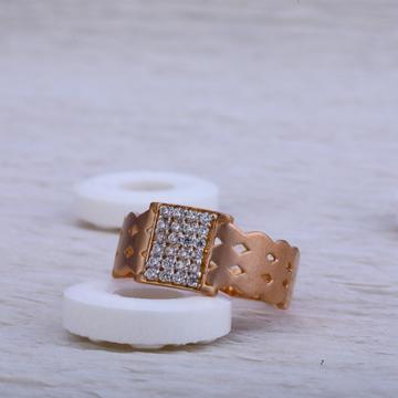 750 Rose Gold Cz Ring RMR29