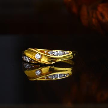 22KT Gold Unique Design Hallmark Ring
