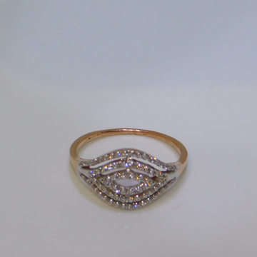 18K gold diamond ring  agj-lr-238