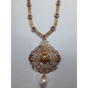 Diamond Necklace by Shri Datta Jewel