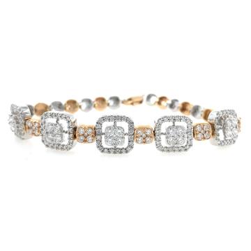 Hermoso diamond tennis bracelet 9brc15