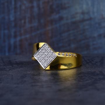 Mens Gold 916 Ring-MR138