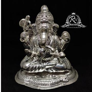 999 Silver Ganpati Murti for Puja RH-MT964