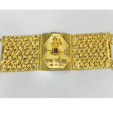 916 gold bracelate for gents by