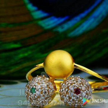 Stunning Cz Fancy Ladies Ring LRG -0053
