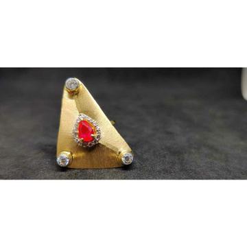 18k Designer Fancy Ladies Gold Ring lr-24022