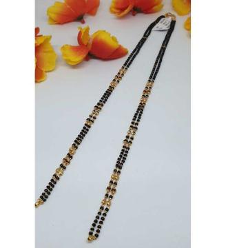 916 Gold Fancy 2 Line Vertical Mangalsutra Ser