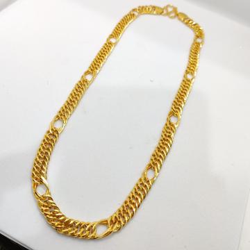 916 Gold Fancy Gent's indo Italian Chain