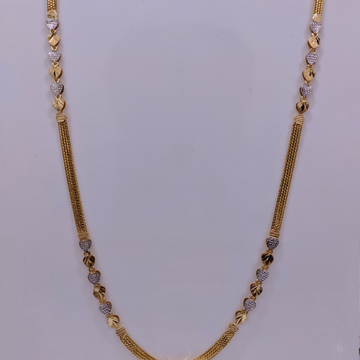 22KT Gold Fancy chain For Women